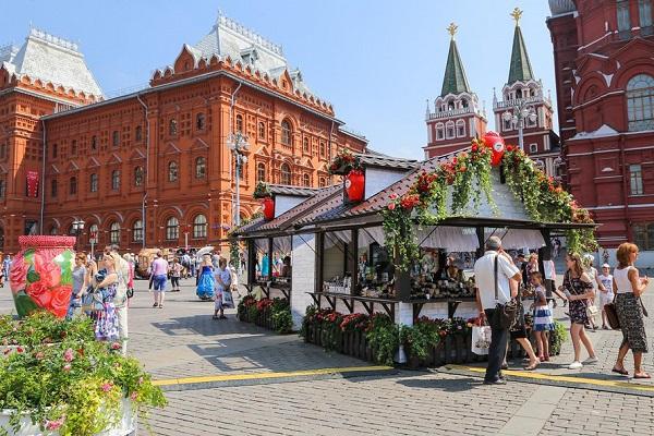 2-й Общегородской фестиваль «Московское лето. Цветочный джем»