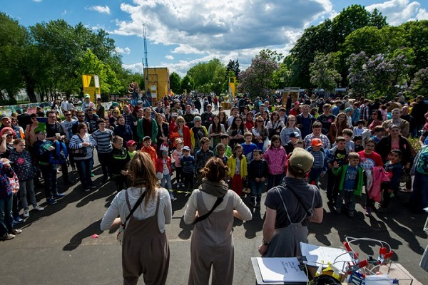 Уличный научно-популярный образовательный фестиваль «Политех»