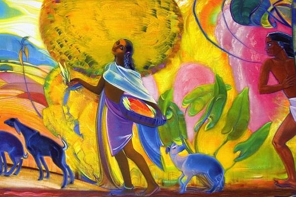 Выставка работ Святослава Рериха «Индия. Моя страна прекрасна»