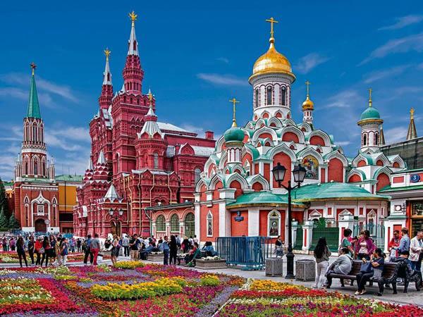 Золотая моя Москва. Нескучная автобусная экскурсия по главным достопримечательностям