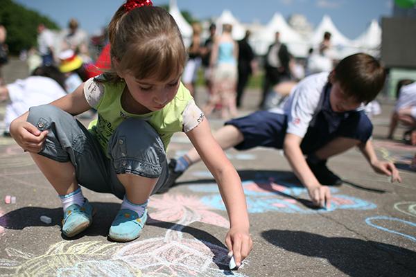Международный День защиты детей на Цветном бульваре