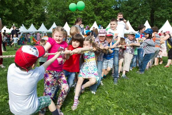 Семейный фестиваль Metro Family в парке Красная пресня