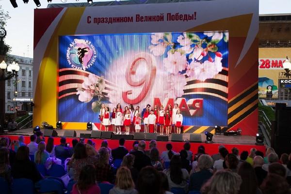 День Победы в парке «Печатники»