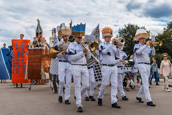 День России в парках Москвы 2018