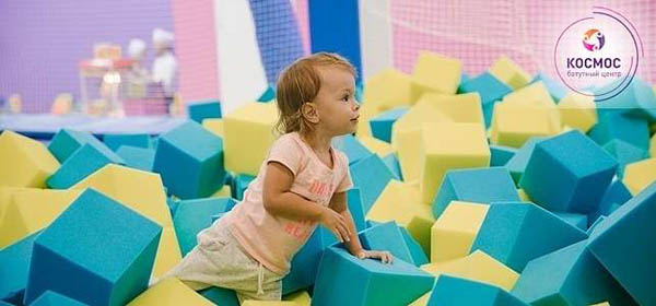 Посещение батутного центра «Космос» для детей и взрослых: поролоновая яма, спортивный батут, канаты, скалодром, стена для паркура и не только.