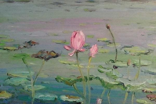 Выставка живописи Карахана Сефербекова в ЦДХ
