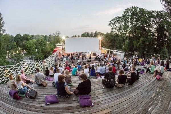 Кинофестиваль «Французские каникулы» в парках Москвы