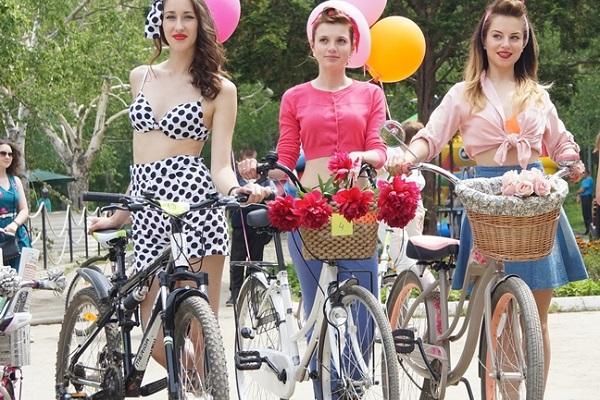 Женский велопарад «Леди на велосипеде – 2018»