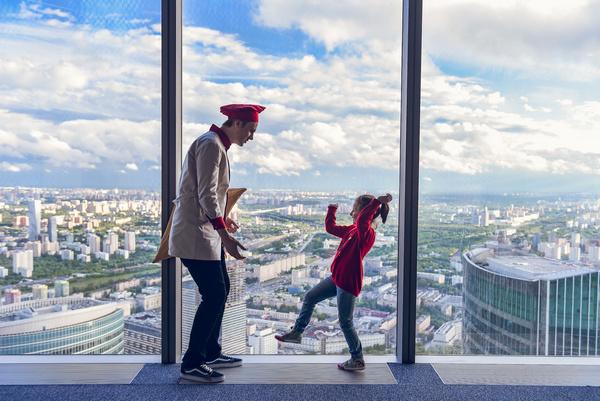 Самая высокая смотровая площадка Европы покажет салют на 360°