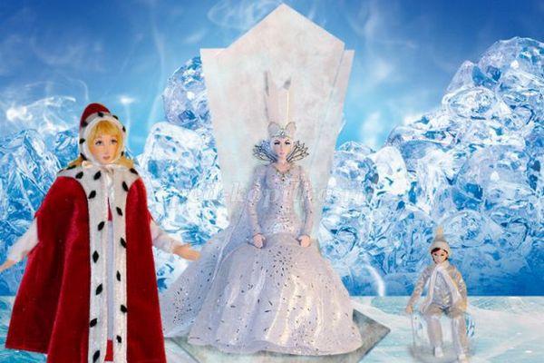 Новогоднее представление «Снежная королева»