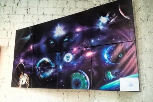 Персональная выставка художника-путешественника Dima Yus Morkovkinberg «Каждый атом наших тел был когда-то частью звезды. Время возвращаться домой»