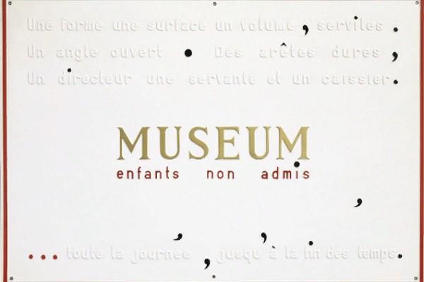 Выставка «Марсель Бродхартс. Поэзия и образы»