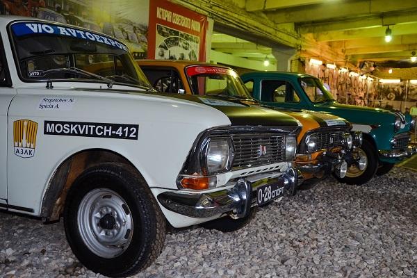Выставка «Москвич в автоспорте»