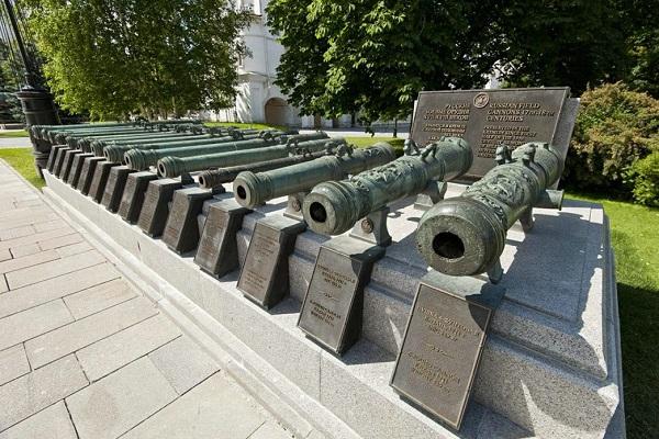 Выставка «Собрание артиллерии Музеев Московского Кремля»