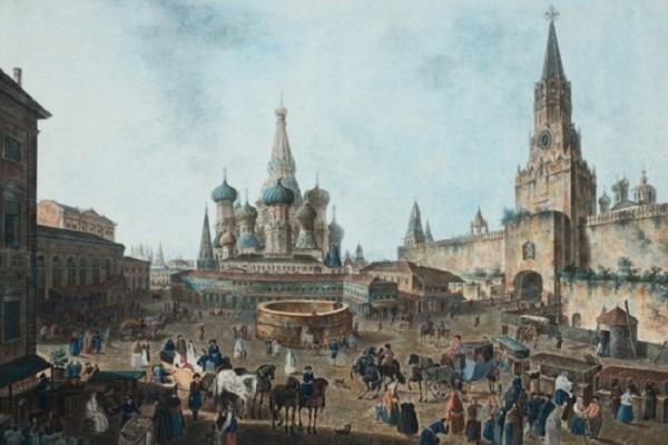 Выставка «Пейзажи старой Москвы. Акварель»