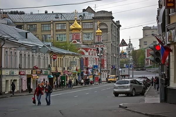 Улица Солянка