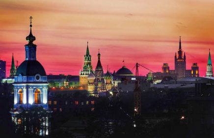 """Экскурсия на шпиль Сталинской высотки """"Москва на ладони"""""""