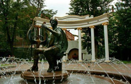 Сад «Аквариум» – театральный оазис Москвы