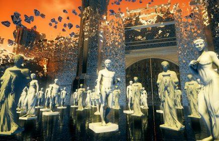 """Иммерсивная выставка в виртуальном пространстве «""""Я"""" – волнение и неизвестность…»"""