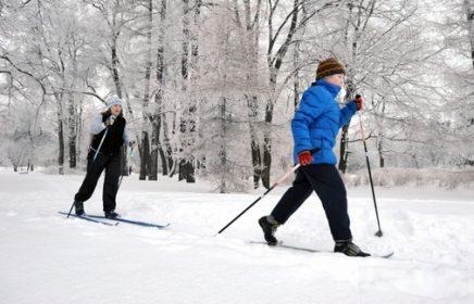 Покататься на лыжах в Измайловском парке