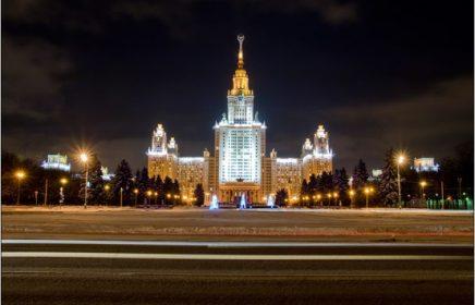 Экскурсия по Сталинским высоткам