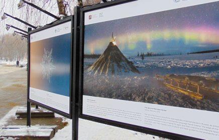 Фотовыставка «Русская зима» в парке «Кузьминки»