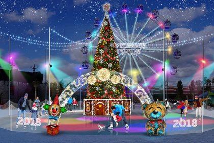 Новогодняя программа «Фабрика Рождества»