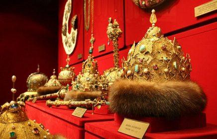 В Оружейной палате Московского Кремля