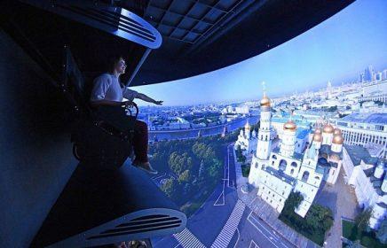 Виртуальный аттракцион «Полет над Москвой»