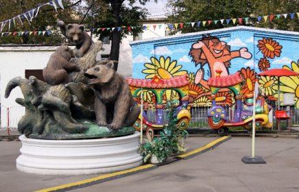 Таганский парк – мал золотник, да дорог