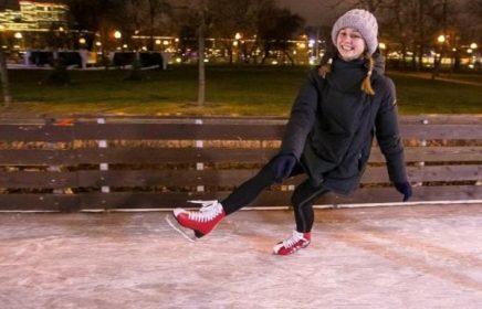Бесплатные тренировки по фигурному катанию в Парке Горького
