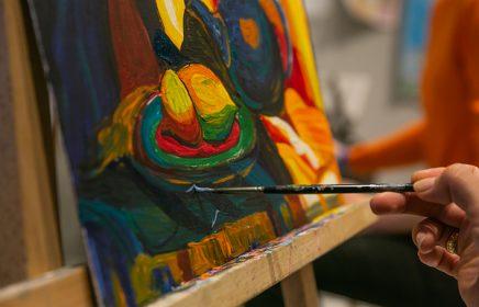 Мастер-класс «В мастерской импрессиониста. Пишем акрилом!»