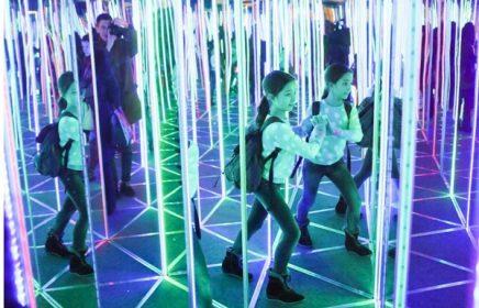 В поисках выхода из Зеркального лабиринта Pikabolo на Новом Арбате