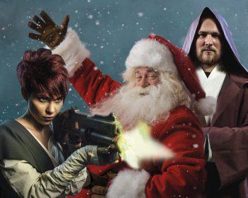 Межгалактическая ёлка «Звёздные войны и другие приключения Деда Мороза»