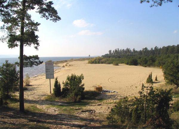 Пляж «Левобережный»
