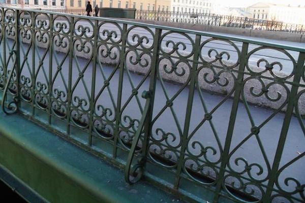 Ограда Белинского моста