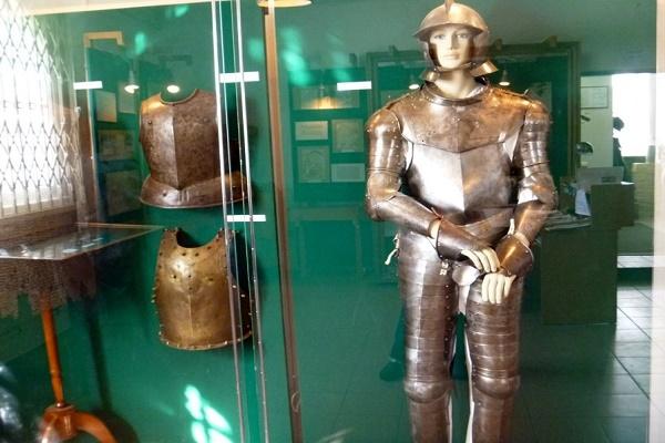 Музей в крепости Корела