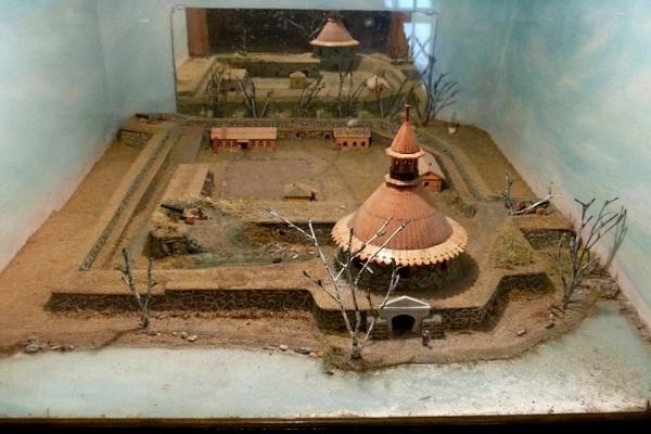 Макет крепости Корела