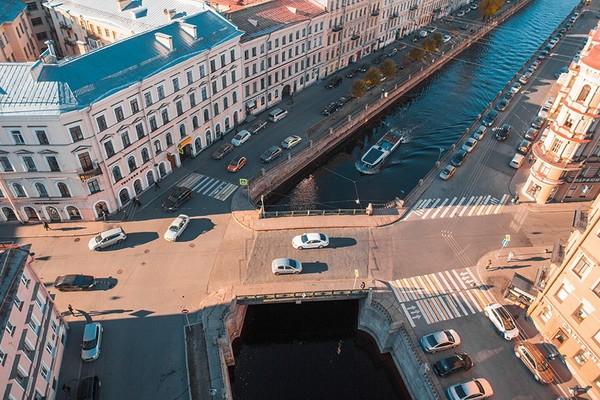 Кокушкин мост в Санкт-Петербурге