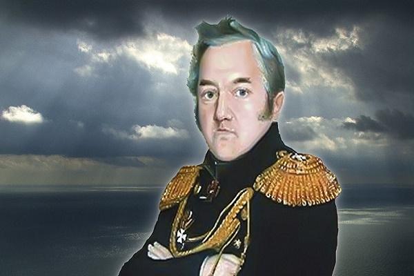 Адмирал Лазарев, в честь него назван Лазаревский мост