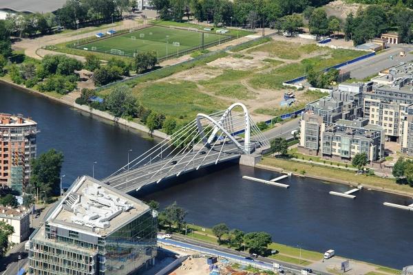 Лазаревский мост в Санкт-Петербурге