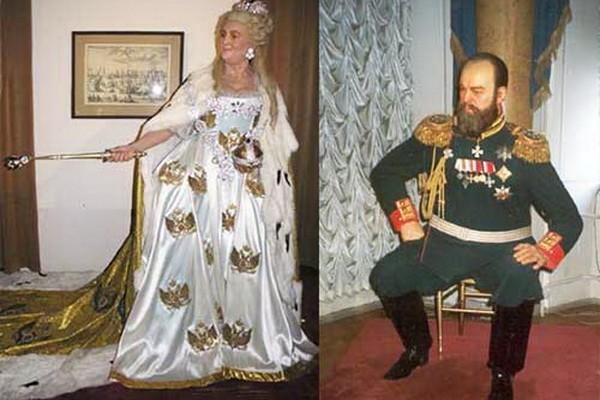 Исторические персонажи в Музее восковых фигур Санкт-Петербурга