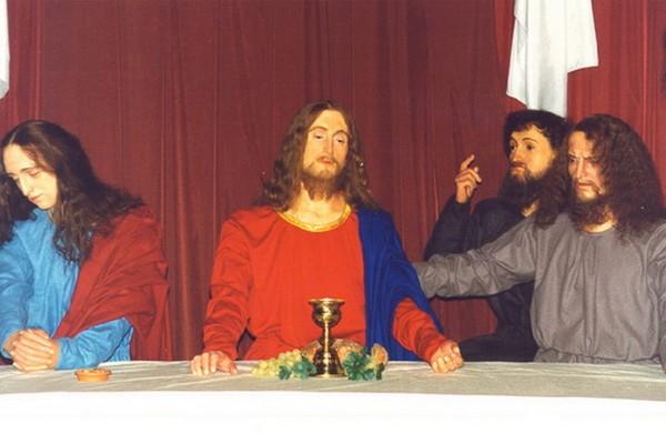 Персонажи Библии в Музее восковых фигур Санкт-Петербурга