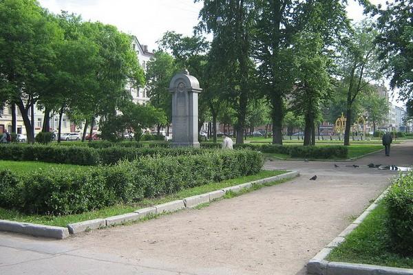 Покровский сквер на площади Тургенева