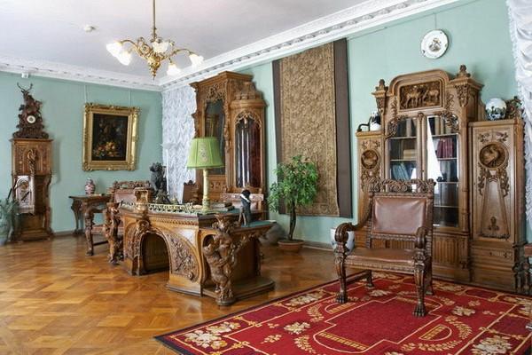 Елагиноостровский дворец–музей русского декоративно-прикладного искусства и интерьера 18-20 вв.
