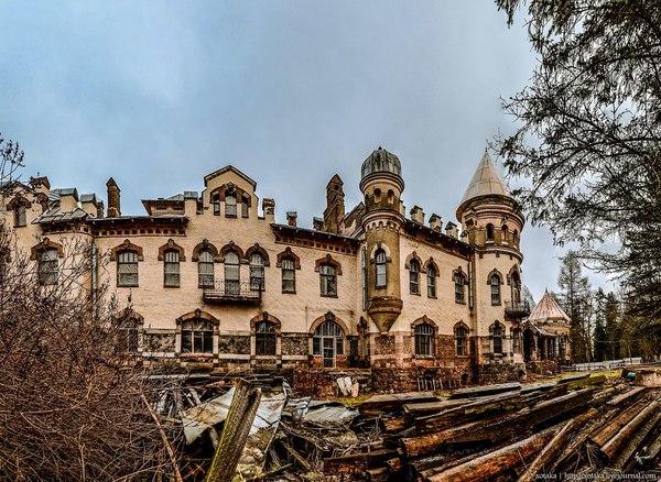 Дворец Елисеева (усадьба Белогорка)