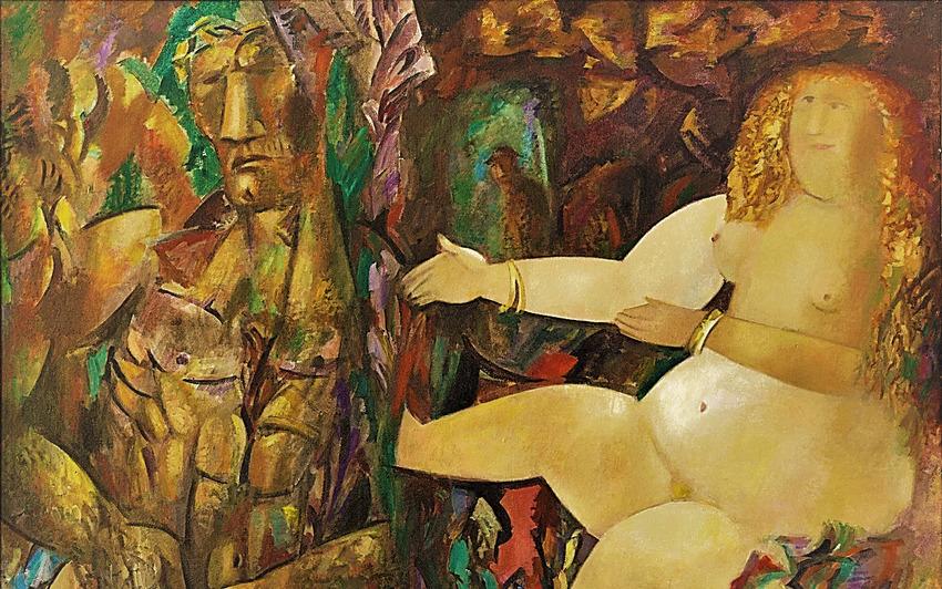 Выставка «Миша Брусиловский. Лабиринты времени»