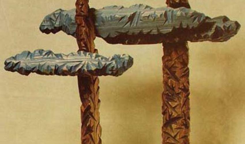 Выставка «Пейзаж в скульптуре. Скульптура в пейзаже»