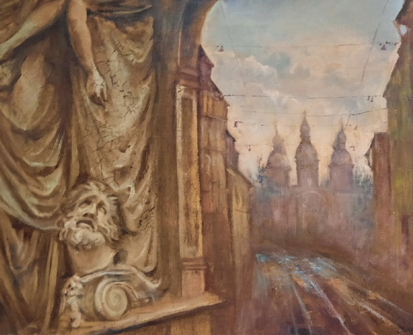 Выставка «Елена Завалий. Живопись в синтезе с написанием икон»
