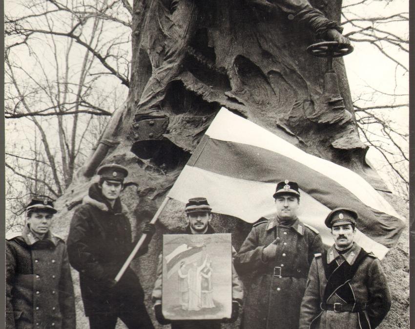 Выставка «Флаг России над Санкт-Петербургом»